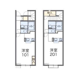 1K Apartment in Sekimachikita - Nerima-ku Floorplan