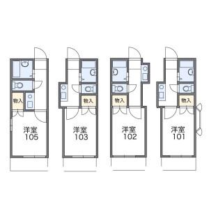 1K Apartment in Shibasakicho - Tachikawa-shi Floorplan