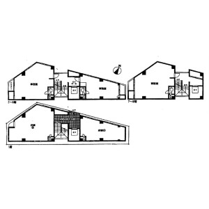 Whole Building {building type} in Kamata - Ota-ku Floorplan