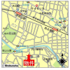 4LDK House to Rent in Suginami-ku Map