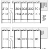 1K Apartment to Rent in Machida-shi Layout Drawing