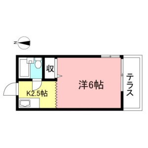 1K Apartment in Shimotakaido - Suginami-ku Floorplan