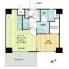 1LDK Apartment to Buy in Ota-ku Floorplan