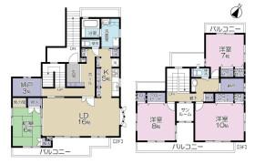 4LDK Apartment in Higashiogu - Arakawa-ku