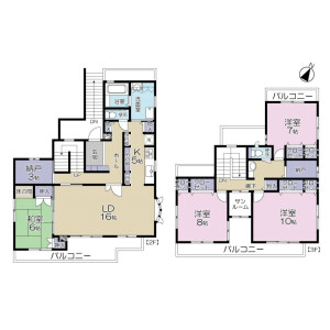 4LDK Apartment in Higashiogu - Arakawa-ku Floorplan