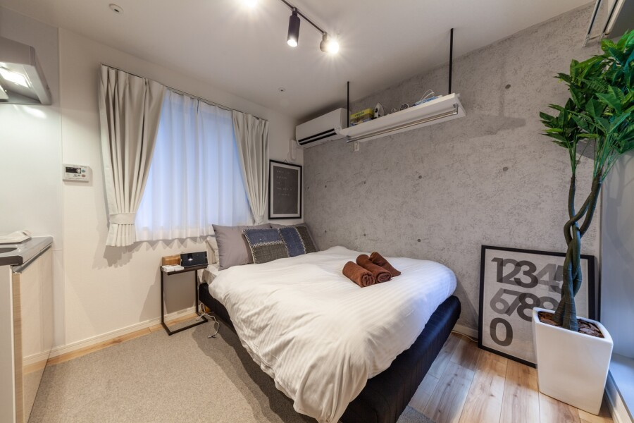 1R Apartment to Rent in Sumida-ku Bedroom