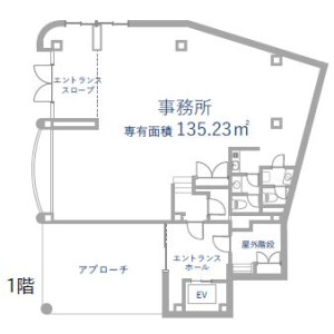 Whole Building {building type} in Azabudai - Minato-ku Floorplan