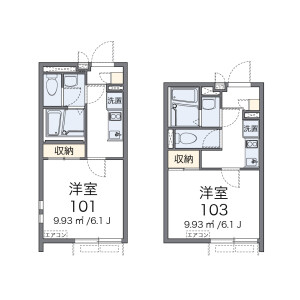 1K Mansion in Ebisuminami - Shibuya-ku Floorplan