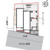 在横浜市磯子区内租赁1K 公寓 的 楼层布局