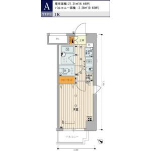 1K Mansion in Kitashinagawa(5.6-chome) - Shinagawa-ku Floorplan