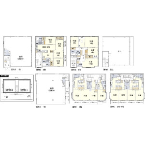 Whole Building {building type} in Higashikomagata - Sumida-ku Floorplan