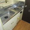 在大阪市中央区购买1R 公寓大厦的 厨房