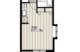 福岡市中央区 大宮 1R {building type}