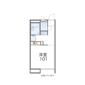 1K Apartment in Shimotakaido - Suginami-ku Floorplan