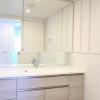 在港區內租賃4LDK 公寓大廈 的房產 盥洗室