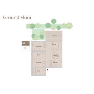 2LDK {building type} in Kitanominecho - Furano-shi Floorplan