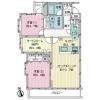 2SLDK Apartment to Buy in Suginami-ku Floorplan