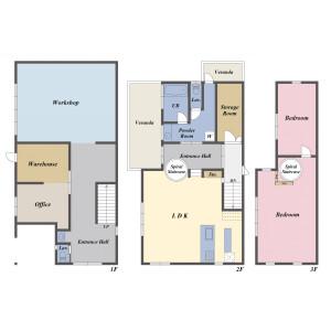 4SLDK {building type} in Matsugaoka - Chigasaki-shi Floorplan