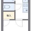 1K 아파트 to Rent in Nerima-ku Floorplan