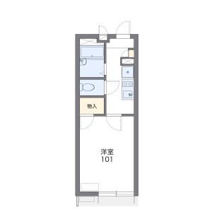 1K 아파트 in Yahara - Nerima-ku Floorplan
