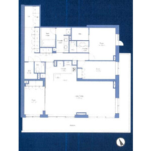 3SLDK {building type} in Hiroo - Shibuya-ku Floorplan