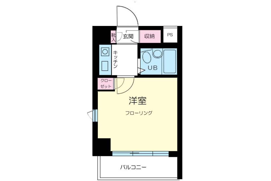 1K Apartment to Rent in Ota-ku Exterior