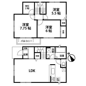 3LDK House in Yawata - Ichihara-shi Floorplan