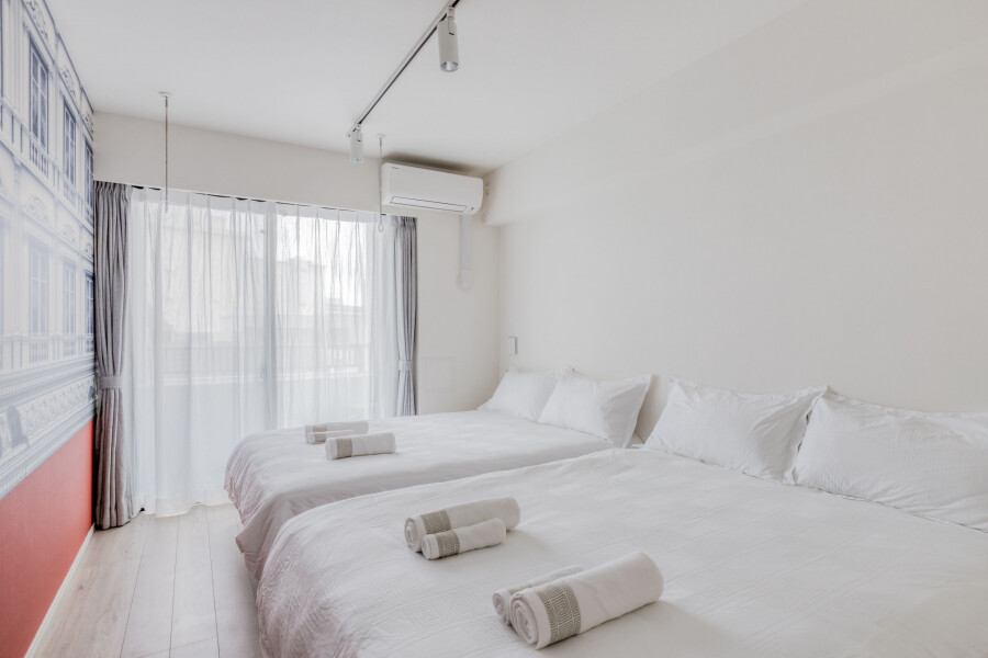 1K Apartment to Rent in Arakawa-ku Bedroom