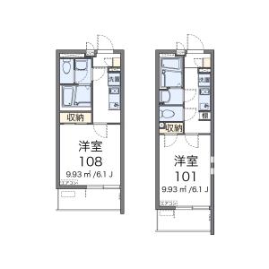 1K Mansion in Bessho - Saitama-shi Minami-ku Floorplan