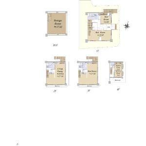 5LDK {building type} in Sendagaya - Shibuya-ku Floorplan