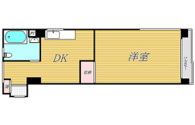 1DK Mansion in Nishiikebukuro - Toshima-ku
