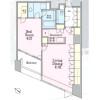1LDK 맨션 to Rent in Meguro-ku Floorplan