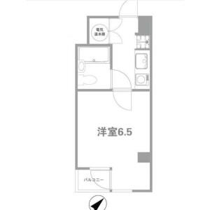 1K {building type} in Nishigotanda - Shinagawa-ku Floorplan
