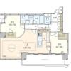 2LDK Apartment to Buy in Koto-ku Floorplan