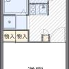 1K Apartment to Rent in Kobe-shi Suma-ku Floorplan