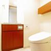 3SLDK マンション 目黒区 トイレ