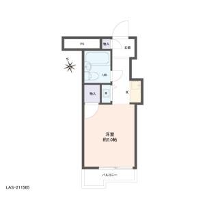 1R {building type} in Ohanajaya - Katsushika-ku Floorplan