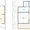 5LDK Terrace house to Rent in Asahi-shi Floorplan