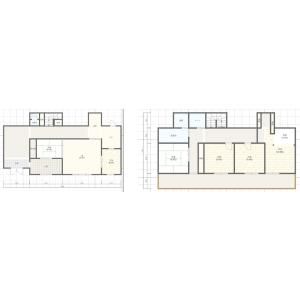 5LDK Terrace house in Ushirogusa - Asahi-shi Floorplan