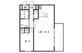 1LDK {building type} in Uematsucho - Kyoto-shi Shimogyo-ku