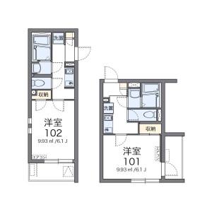 1K Mansion in Koenjiminami - Suginami-ku Floorplan