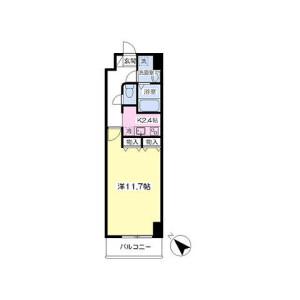 1K Mansion in Ariake - Koto-ku Floorplan
