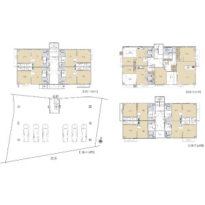Whole Building {building type} in Katagihara nakakaito - Kyoto-shi Nishikyo-ku Floorplan