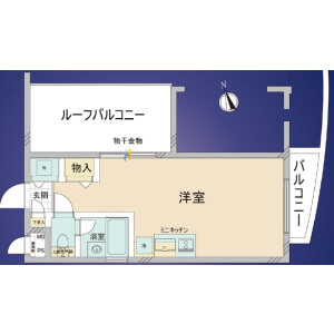 1R {building type} in Sekibara - Adachi-ku Floorplan