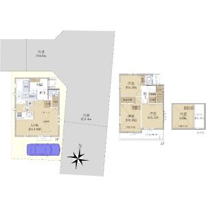 3LDK {building type} in Shimoigusa - Suginami-ku Floorplan