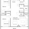 2LDK Apartment to Rent in Naha-shi Floorplan