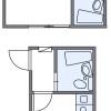1K Apartment to Rent in Saitama-shi Omiya-ku Floorplan