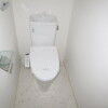 1K Apartment to Rent in Osaka-shi Kita-ku Toilet