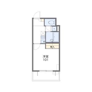 1K Mansion in Kitazakae - Urayasu-shi Floorplan