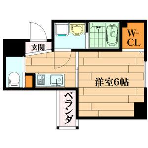 1K Mansion in Shimodera - Osaka-shi Naniwa-ku Floorplan